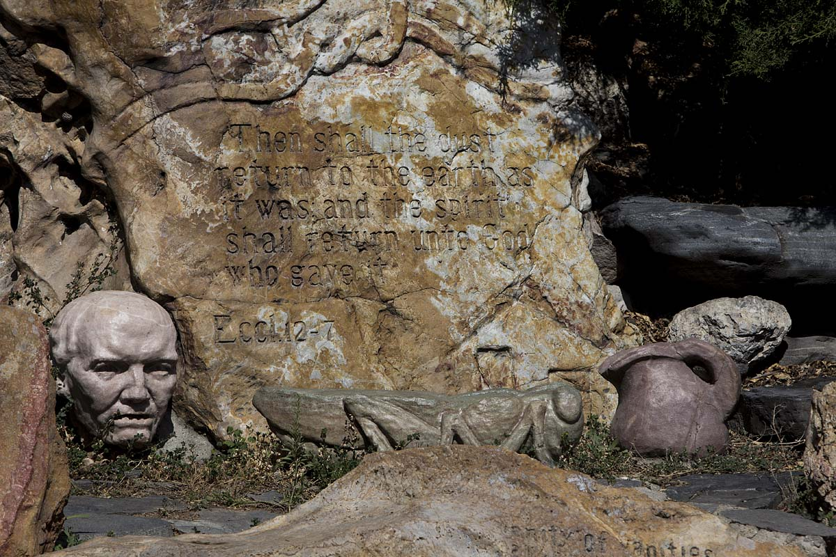 The Last Chapter of the Book of Ecclesiastes – Gilgal Sculpture Garden